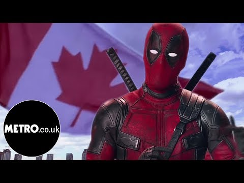 Deadpool wants Canada to be part of Eurovision   Metro.co.uk