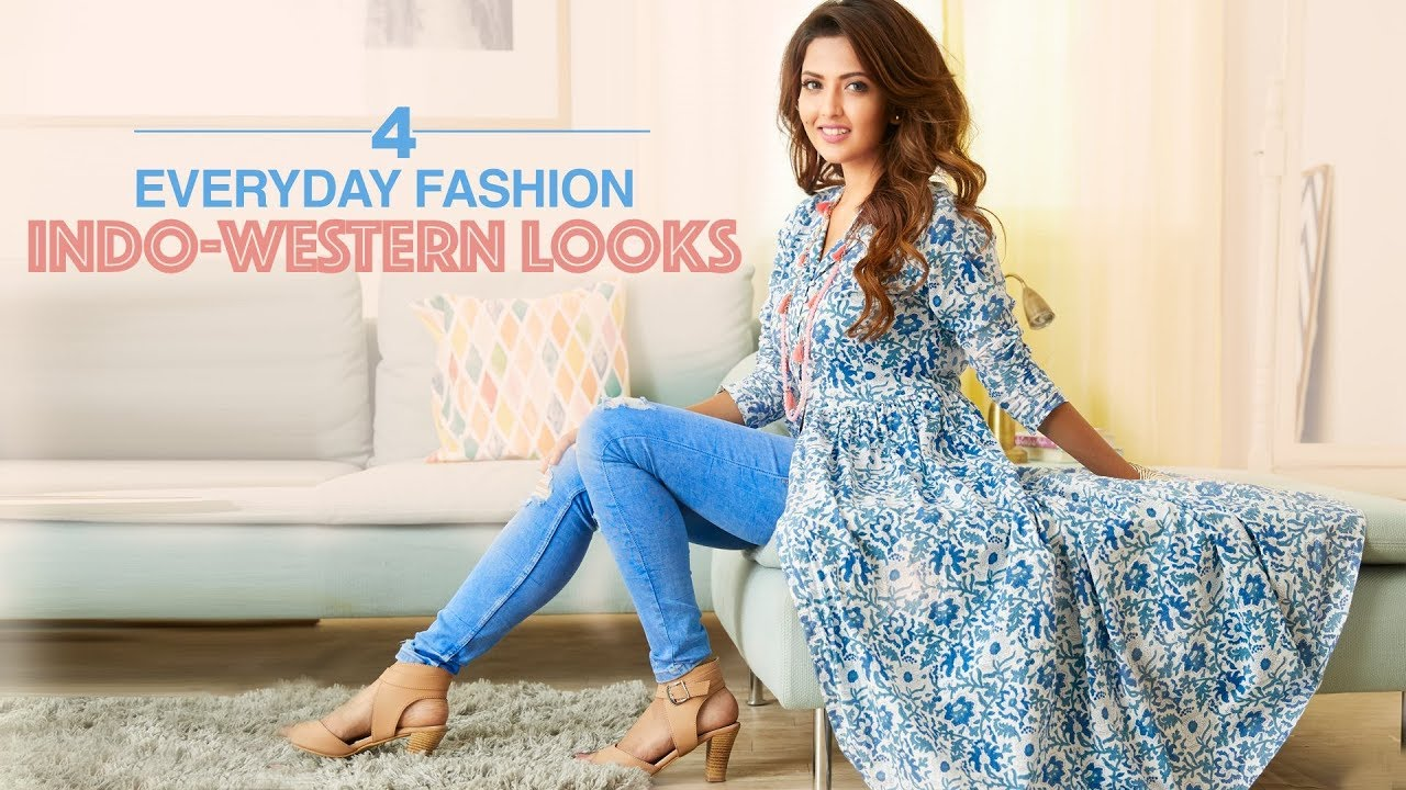 4 Everyday Fashion Indo-Western Looks | Outfit Ideas by Glamrs ...