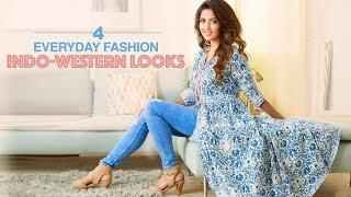 4 Everyday Fashion Indo-Western Looks | Outfit Ideas by Glamrs | Flipkart Fashion!