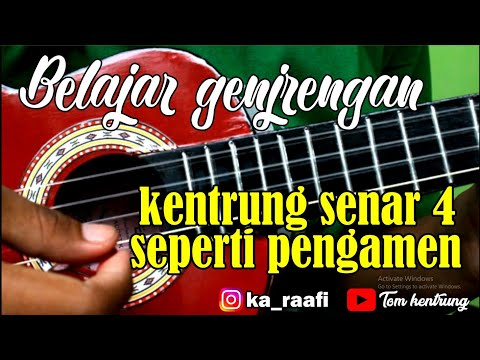 5 Tutorial GENJRENGAN UKULELE | Ukulele Senar 4    FOLLOW MY INSTAGRAM : https://www.instagram.com/gustia.id/   * GIVE AWAY ....