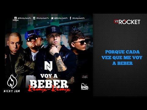 Nicky Jam - Voy a Beber Remix 2 Ft Ñejo, Farruko y Cosculluela | Video Con Letra | Reggaeton 2014