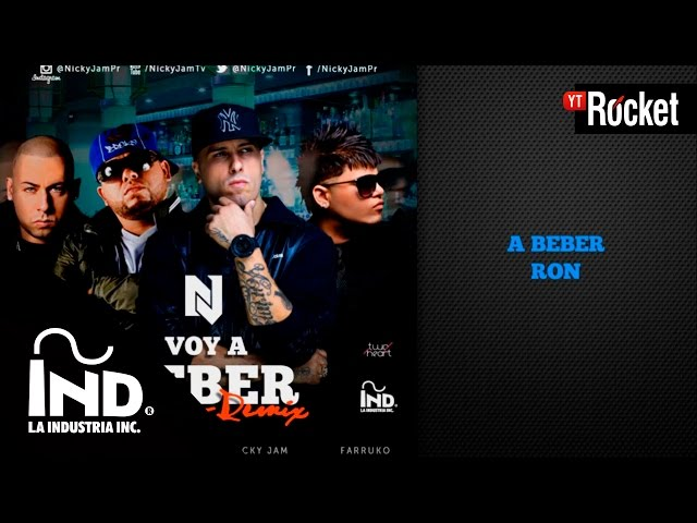 Nicky Jam Voy A Beber Remix To The Remix Lyrics Genius Lyrics