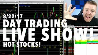 Monday Morning HOT STOCKS! Day Trading LIVE