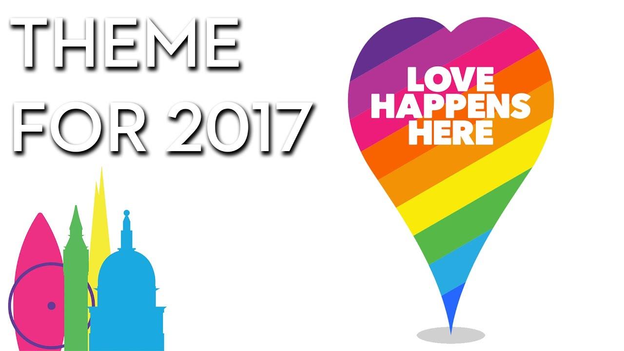 Image result for pride in london 2017 logo