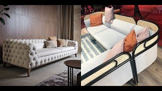 50 Stylish Sofa Designs for Modern Interiors ➤ Upholstered furniture in the living room