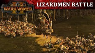 Total War: WARHAMMER 2 - Lizardmen Battle Lets Play