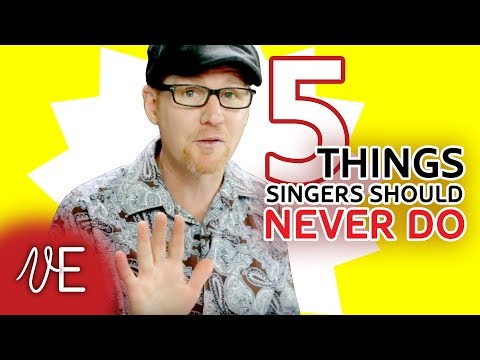DESTROY YOUR VOICE in 5 easy steps! | Singing habits to AVOID | #DrDan