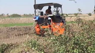 Shaktiman Mobile Shredder - Cotton Chopper with Uprooter