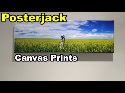 Posterjack Canvas Print Review