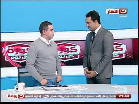 احمد مرتضى منصور يقتحم استديو كريم حسن شحاتة على الهواء .. انت بتتكلم على الزمالك ليه بقى