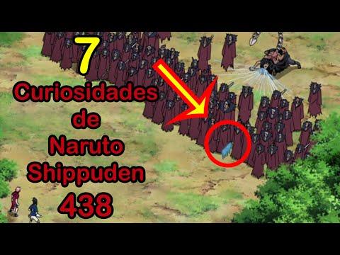 7 CURIOSIDADES de NARUTO SHIPPUDEN 438   Dash Aniston
