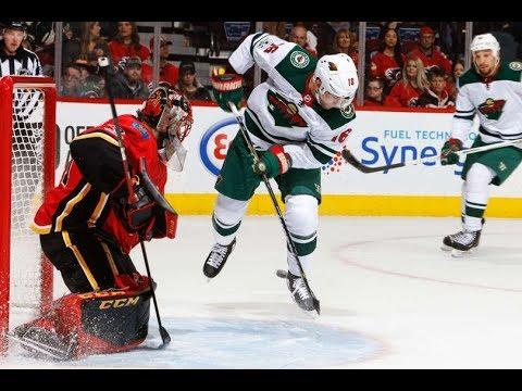 Minnesota Wild vs Calgary Flames - October 21, 2017 | Game Highlights | NHL 2017/18