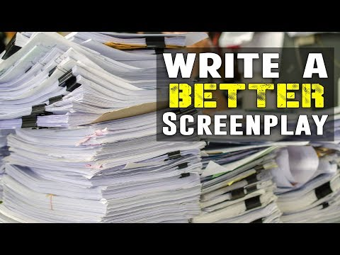 12 Tips To Help A Screenwriter Write A Better Screenplay