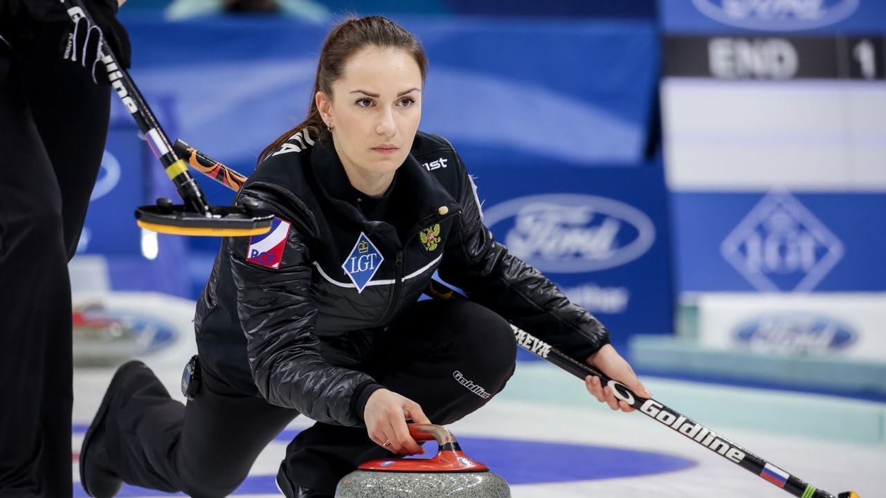 HIGHLIGHTS: Russia v Sweden - Page Play-off Semi-final - CPT World Women's Curling Championship