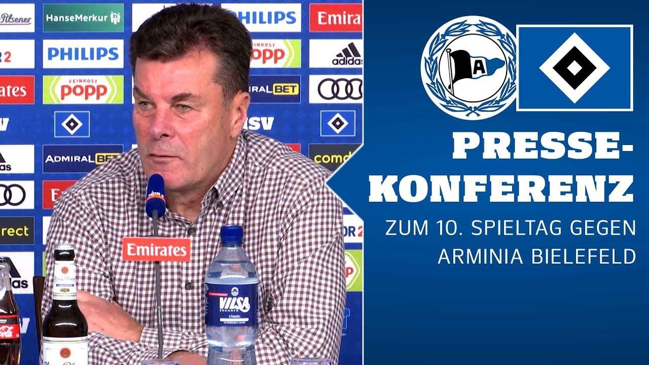 RELIVE: Die Pressekonferenz vor dem Auswärtsspiel in Bielefeld