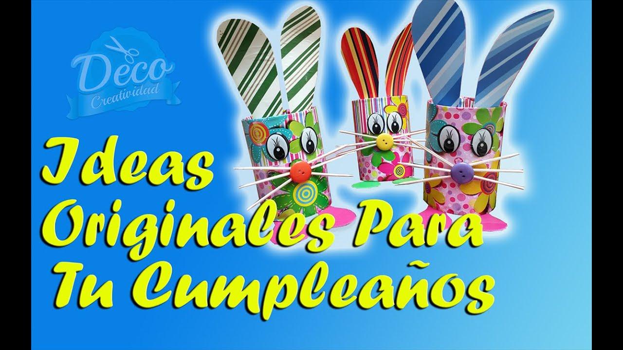 Detalles para regalar a los invitados de un cumplea os detalles para ni os youtube - Regalos para fiestas de cumpleanos infantiles ...