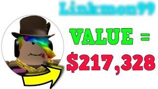 Richest Roblox Player is Worth THIS MUCH MONEY! *INSANE*!!!