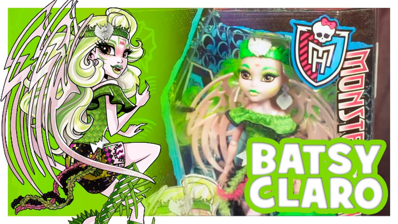 Batsy Claro | Monster High Wiki | Fandom powered by Wikia