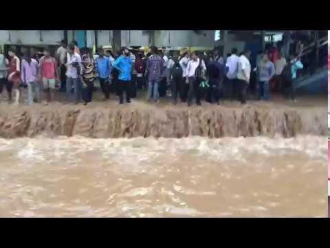 Mumbai Rains: Matunga Railway station, IMD warns of more rainfall