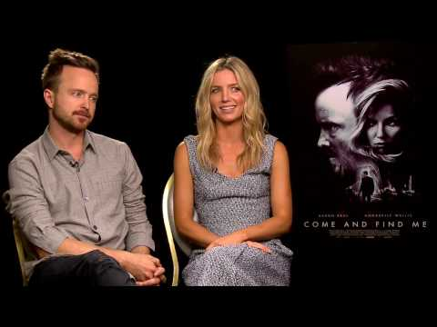 COME AND FIND ME INTERVIEW W/ Aaron Paul and Annabelle Wallis