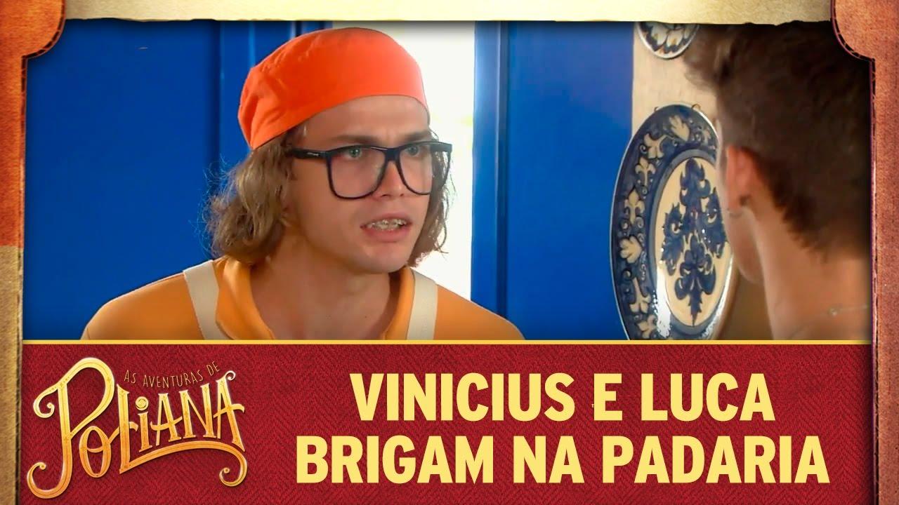 Vini e Luca brigam na padaria | As Aventuras de Poliana