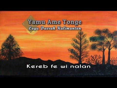 [Midi Karaoke] ♬ Yamu Ame Tonge - Lagu Daerah Kalimantan ♬ +Lirik Lagu