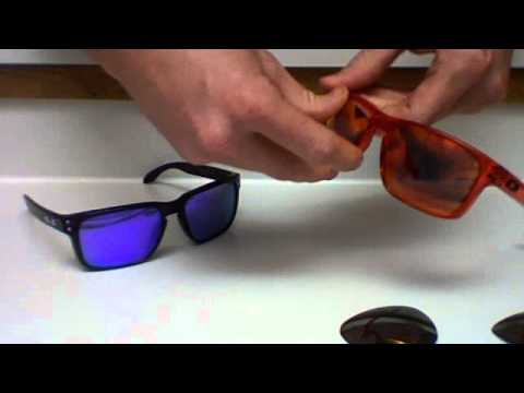 c52e21cf1439c Oakley Holbrook Customization and lens changing - YouTube