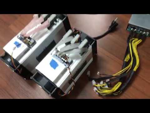 WhatsMiner M3 Bitcoin ASIC Miner Demo In English