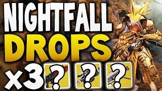 Destiny - NIGHTFALL DROPS x3 (Week 20)