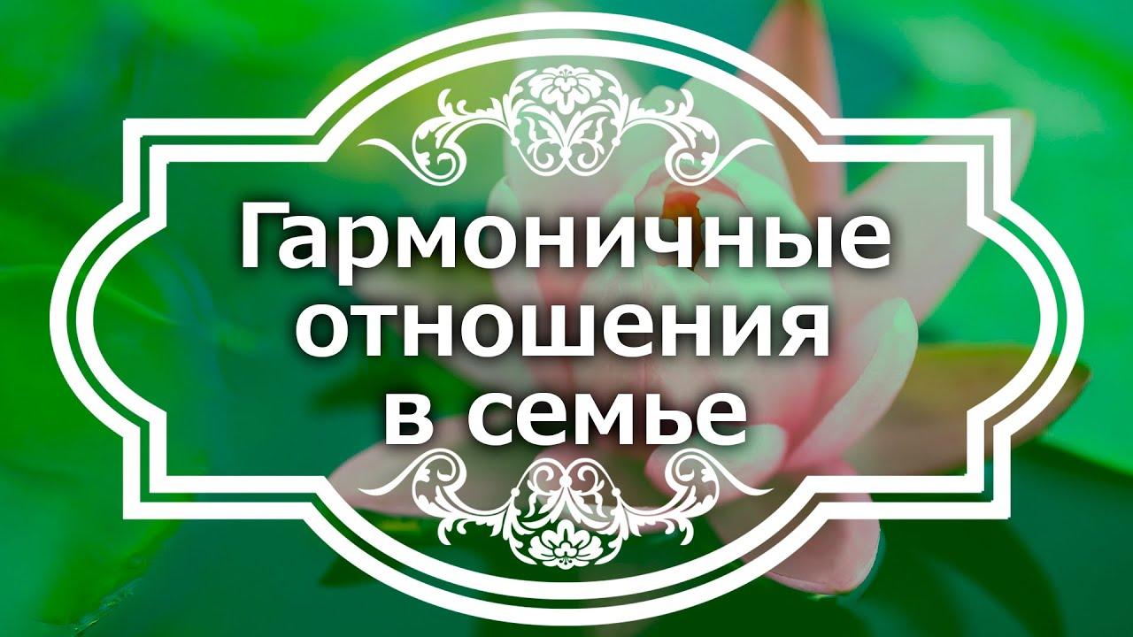 Екатерина Андреева - Гармоничные отношения в семье