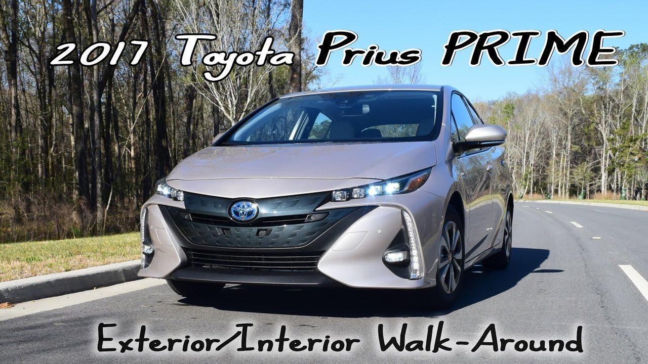 Hd Walkaround 2017 Toyota Prius Prime Advanced Youtube
