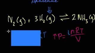 Принцип Ле Шателье (видео 3) | Химическое равновесие | Химия