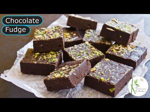 Chocolate Fudge Recipe Without Condensed Milk | Easy Chocolate Fudge Recipe ~ The Terrace Kitchen