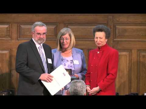 HRH The Princess Royal presents awards to boating's unsung heroes - Boating's MBE's