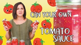 How to Make Tomato Sauce | Food 101 | Well Done