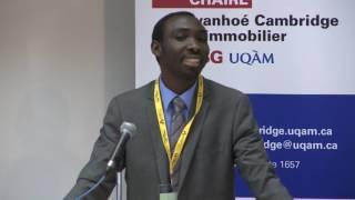 Acfas 2016: Colloque 497 en immoblilier - Maazou Elhadji Issa, École des Sciences de la Gestion (ESG) - UQAM