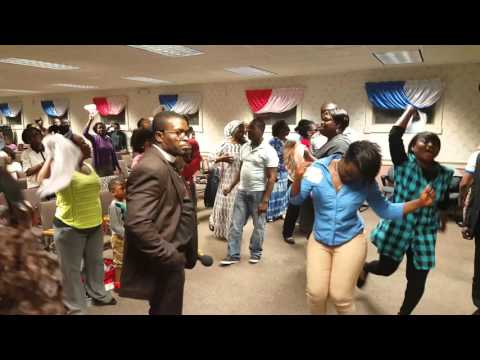 Rev. Awuku-Gyampoh visits Leominster, Massachusetts, U.S.A