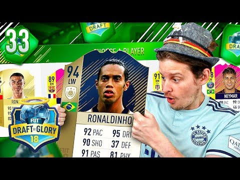 THE BEST DRIBBLING TEAM IN FIFA FUT DRAFT! DTG #33 FIFA 18 ULTIMATE TEAM