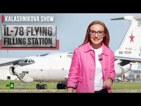 Il-78 Flying Filling Station   The Kalashnikova Show. Episode 27