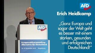 Erich Heidkamp | EU-Wahl '19 - Listenplatz 12