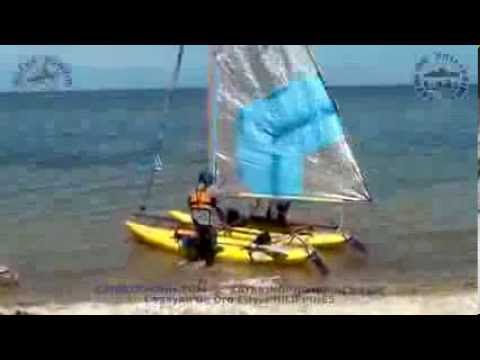 Squire Kayak Catamaran Sailing, Laguindingan to Opol, Misamis Oriental, Philippines