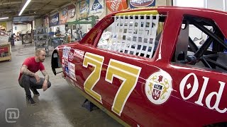 Classic Tim Richmond & Dale Earnhardt NASCAR Restorations: Garage Tours w/ Chris Forsberg
