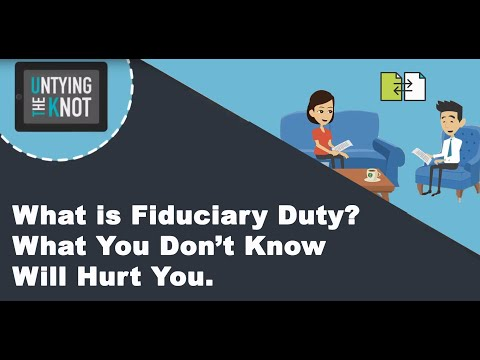 What is Fiduciary Duty? What You Don't Know Will Hurt You.