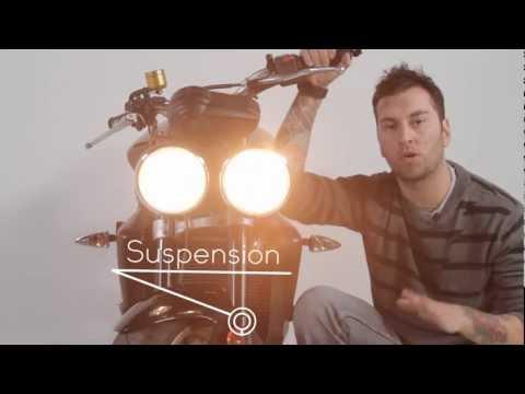Componentes Básicos de una Moto Mecánica - Basic parts of a motorbike