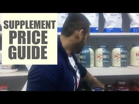 Supplement price guide in India