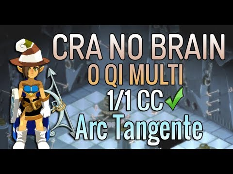 [ PVP ] CRA NO BRAIN 0 QI - MODE FULL BOURRIN - 1/1 CC À L'ARC TANGENTE ! DU GROS ROX À DISTANCE !