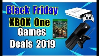 Top XBOX One Black Friday Deals 2019