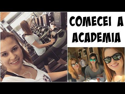 Comecei a Academia - Vlog