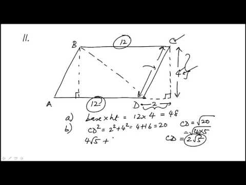 Geometry Problem 11 REVISED GRE MATH REVIEW OFFICIAL GUIDE