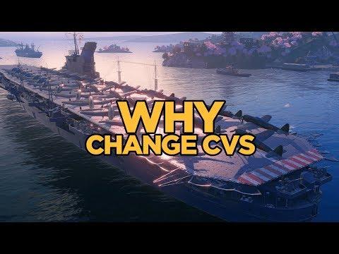 World of Warships - Why Change CVs